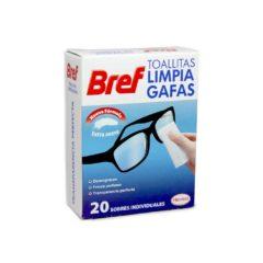BREF TOALLITAS LIMPIAGAFAS C20