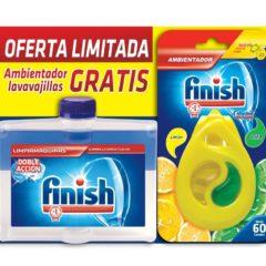 CALGONIT FINISH LIMPIAMAQUINAS 250ML + AMBIENTADOR