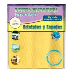LIGERINA BAYETA MICROFIBRA CRISTALES Y ESPEJOS 38x40 CM